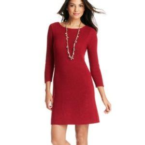 LOFT Sweater Dress Red S